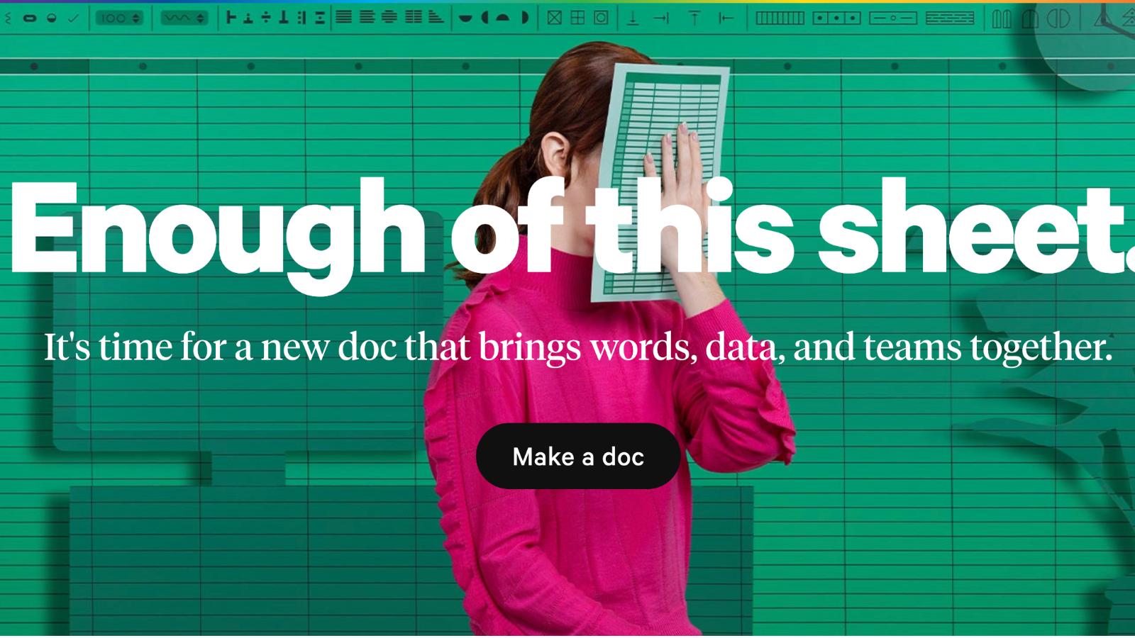 MicrosoftとGoogleに挑む、次世代オールインワンドキュメント作成プラットフォームCoda