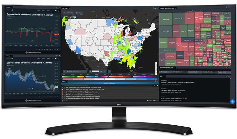貨物版ブルームバーグのFreightWaves、世界の貨物運送データを提供