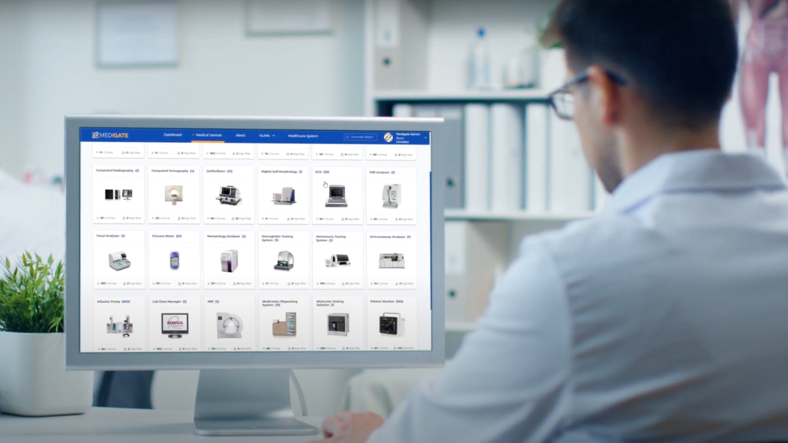 IoT化が進む医療機関を守る。医療サイバーセキュリティのMedigate