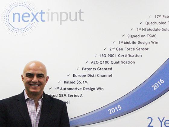 最先端の感圧タッチ技術「Force Touch」でセンシング業界に革新を「NextInput」