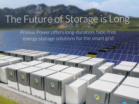 エネルギー貯蔵で次世代の電力のあ在り方を提案するPrimus Power