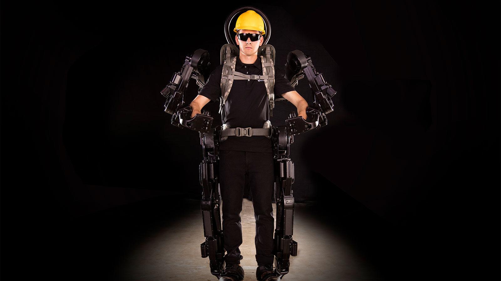 人のできない仕事を助ける、産業用ロボットSarcos Robotics