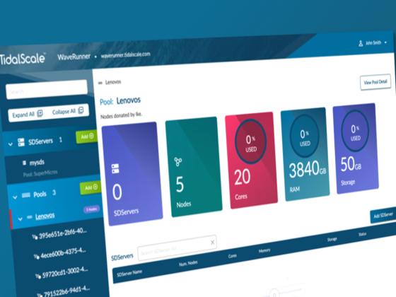 リソース最適化・柔軟な拡張性を実現するソフトウェア仮想サーバーのTidalScale