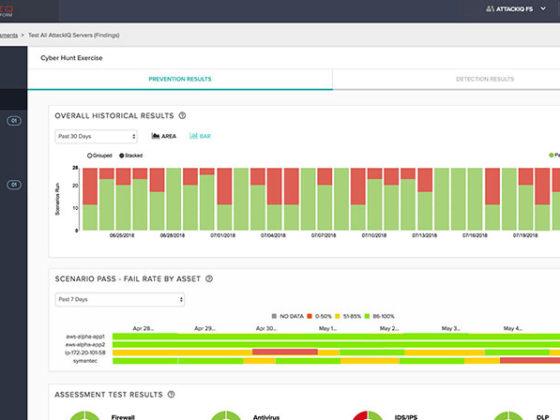 企業のセキュリティツールを検証し、改善策を提案するプラットフォームAttackIQ