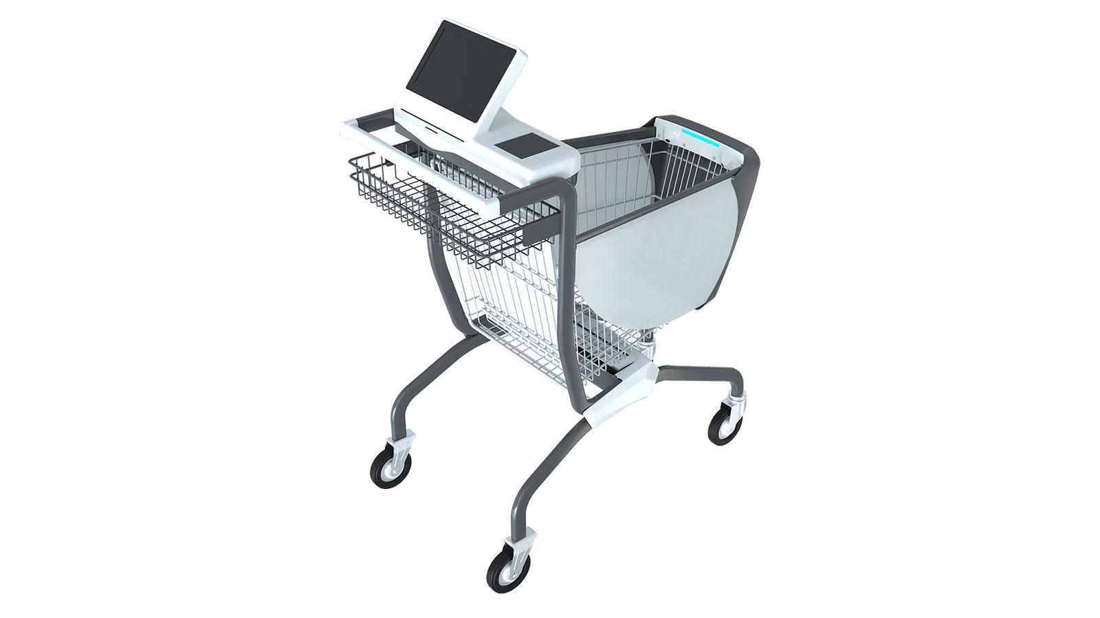 レジが不要になるスマートショッピングカートを発明したCaper