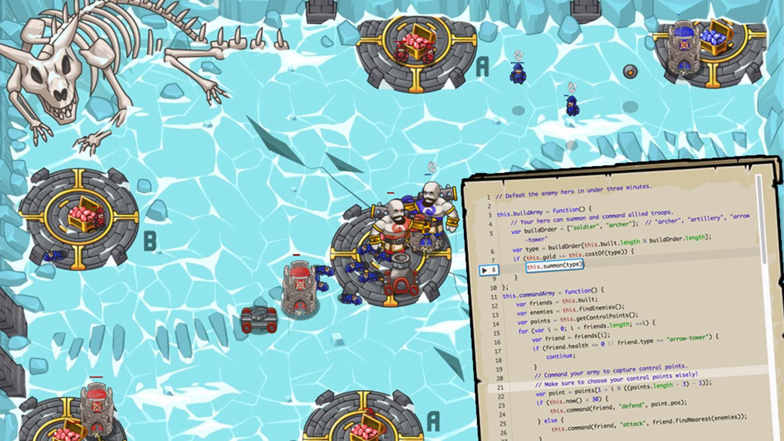 子どもがゲームを通じて楽しくプログラムミングを学べるCodeCombat