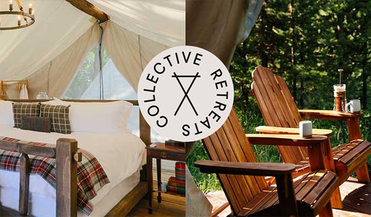 驚くような場所でラグジュアリーなテントに宿泊できるCollective Retreats