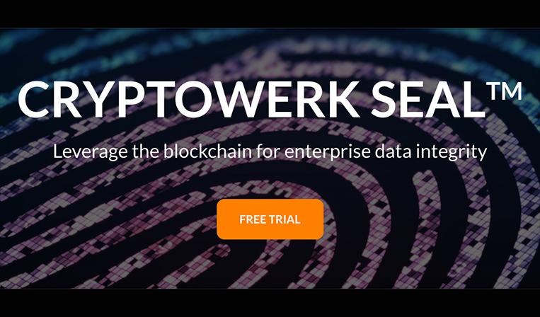 ブロックチェーンを用いたデータの整合性証明サービスCryptowerk
