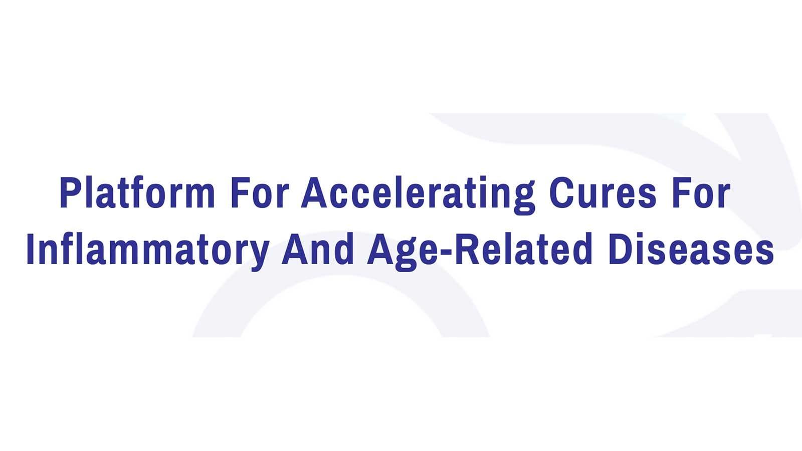 炎症性疾患や加齢性疾患の治療薬の低コスト開発と迅速な患者への提供を目指すGEn1E Lifesciences
