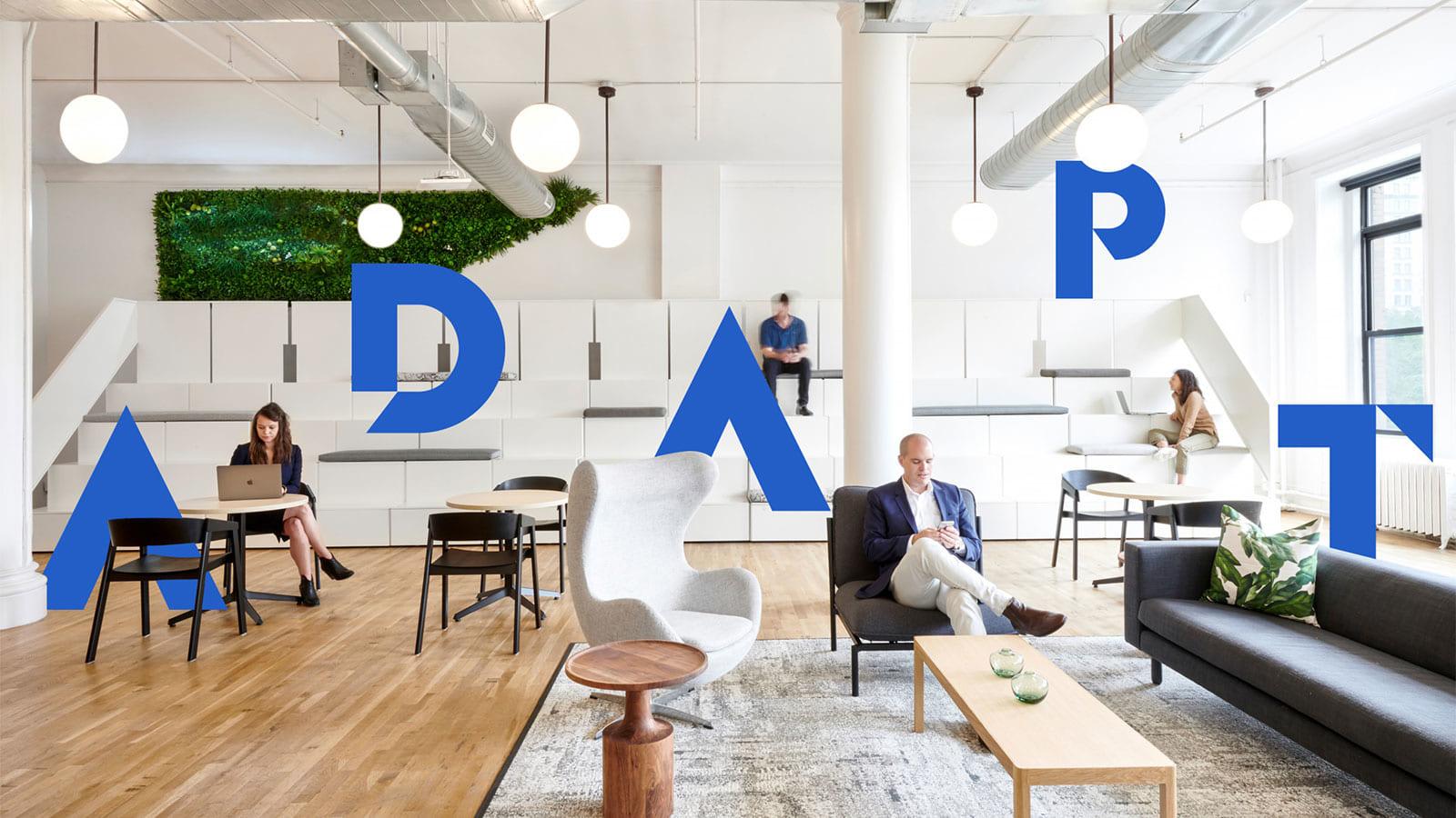 企業のスピードに合わせ進化する快適なオフィススペース。フレキシブル・オフィスを提案するKnotel