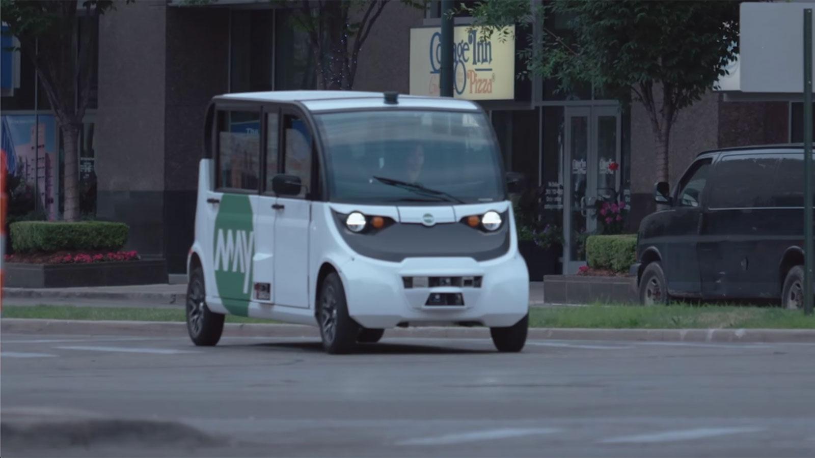 自動運転シャトルバスで交通渋滞の解消を目指すMay Mobility
