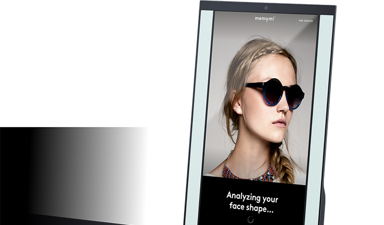 多機能デジタルミラーでファッションやコスメ業界に革新をもたらすMemoMi