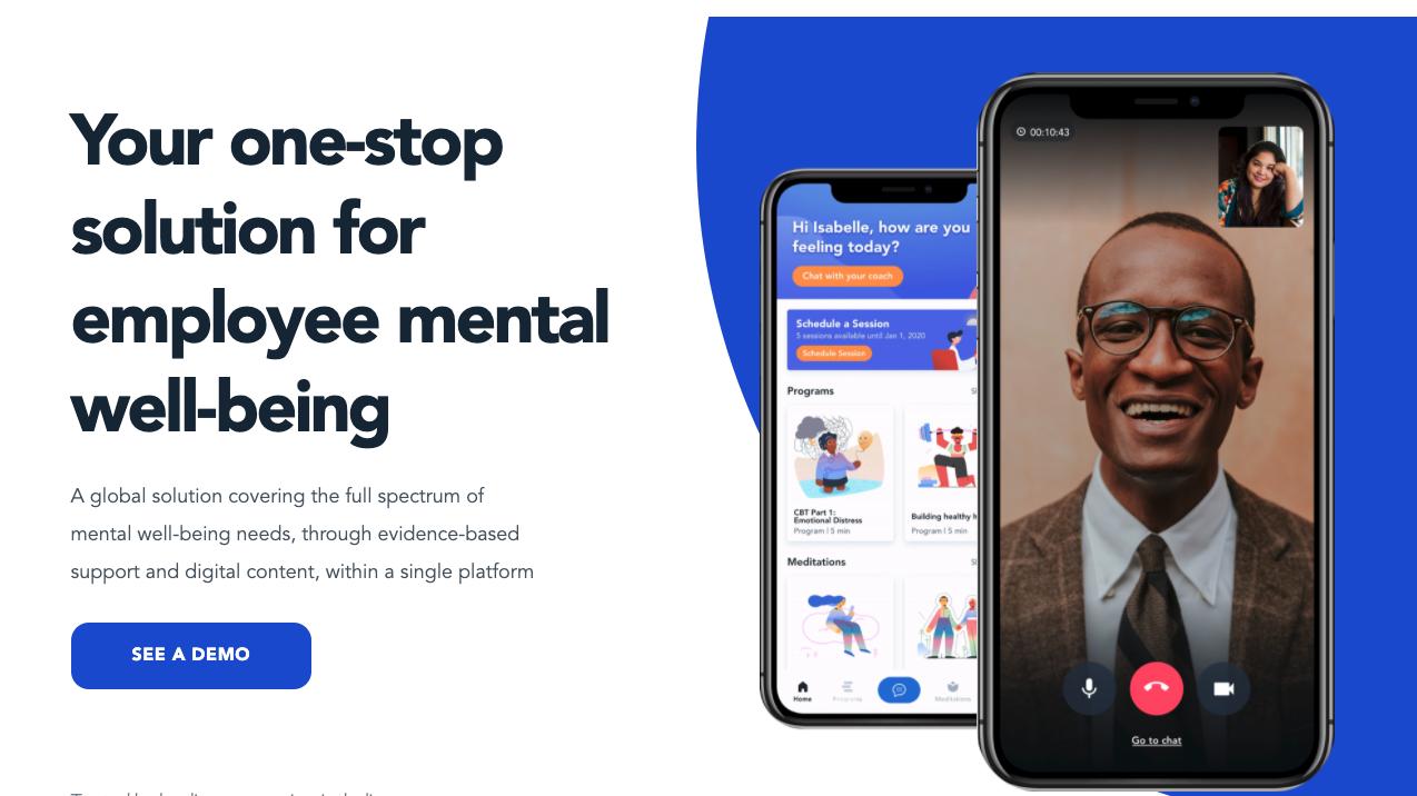 メンタルヘルスに「予防」を。従業員向けのメンタルヘルスアプリModern Health