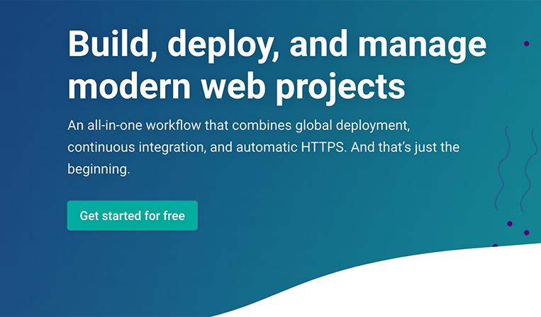 50万以上のデベロッパーが使う、静的サイトのホスティングサービスNetlify