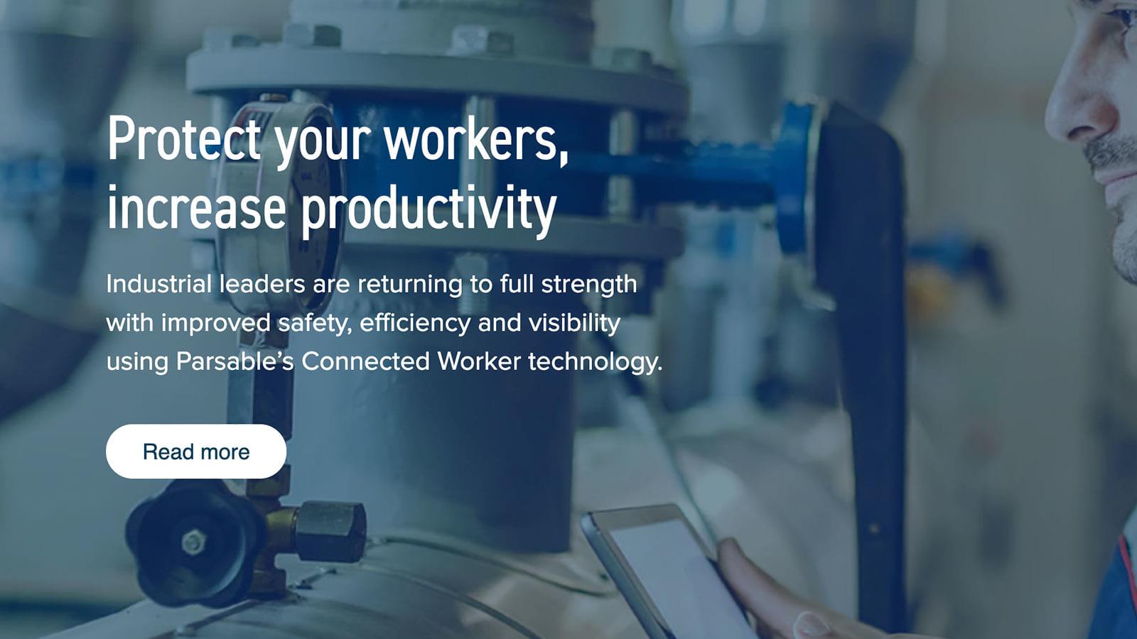 作業ノウハウをデジタル化して共有することで、労働者の未来を支えるParsable