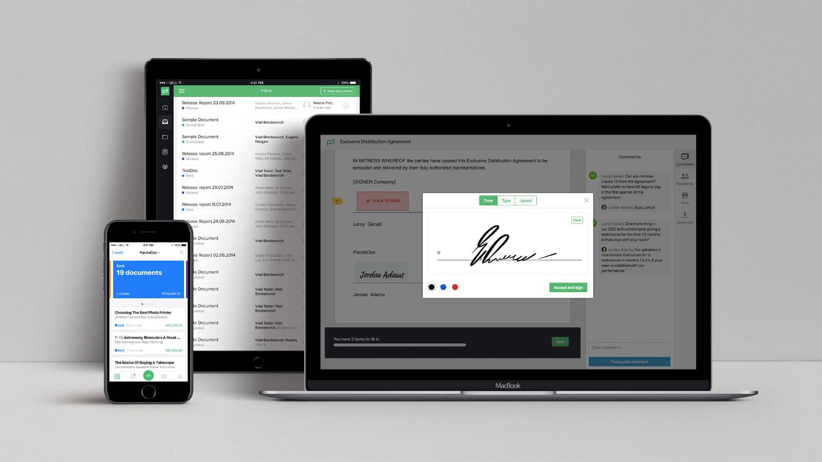 営業のDXを推進。営業関連の書類作成・共有・署名・保管をデジタル化するPandaDoc