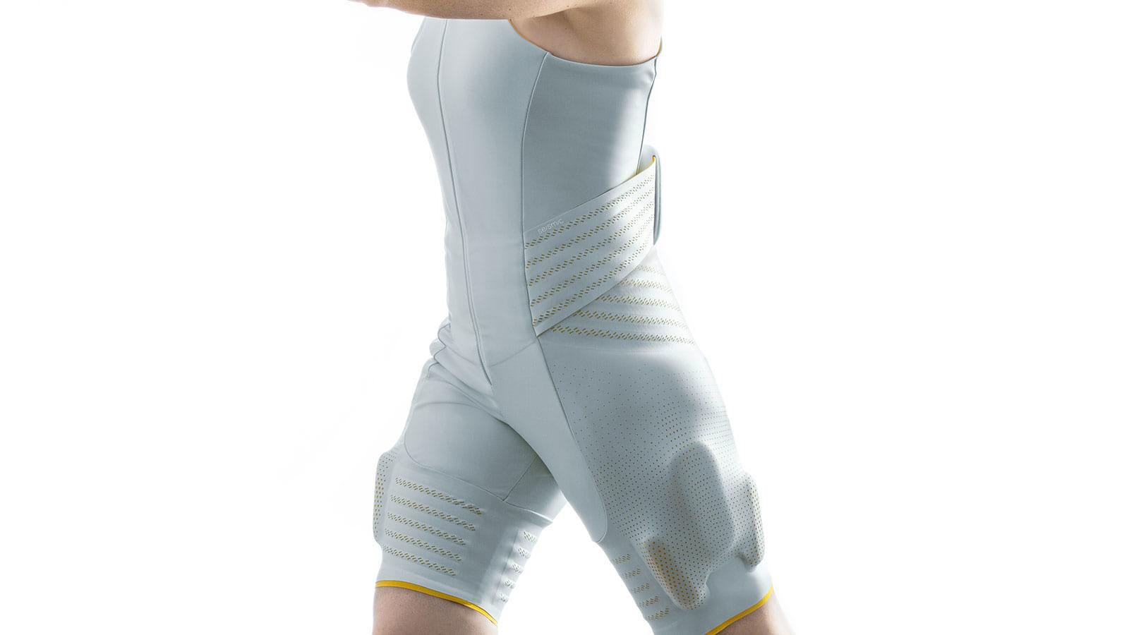 衣類に紛れ込む人工筋肉。パワーアシストクロージングのSeismic