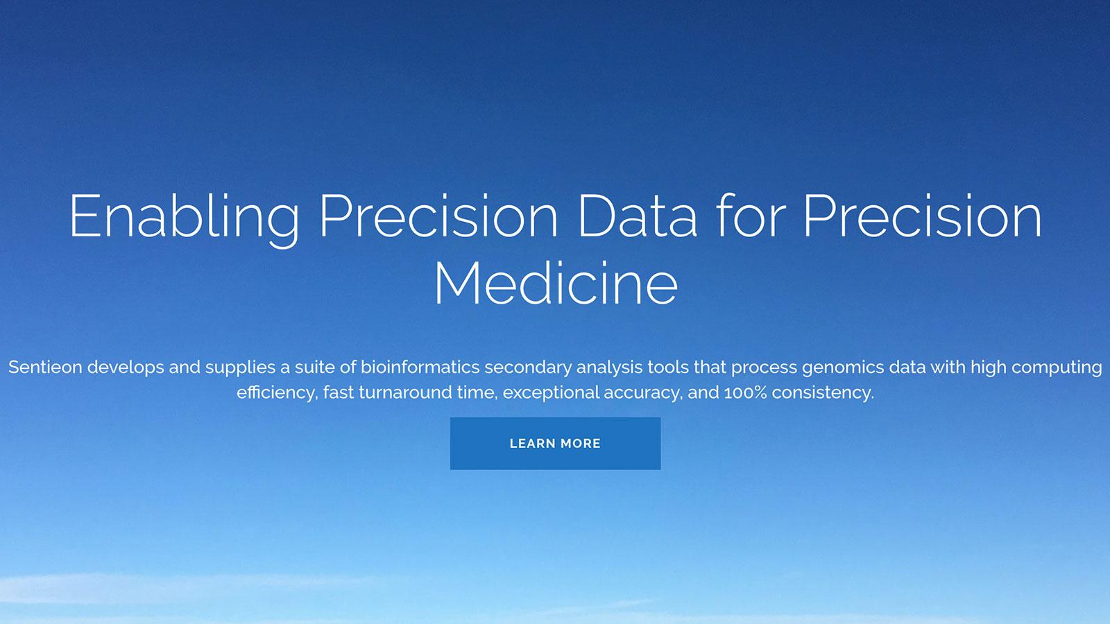 医療業界のデータ分析を手掛けるSentieon