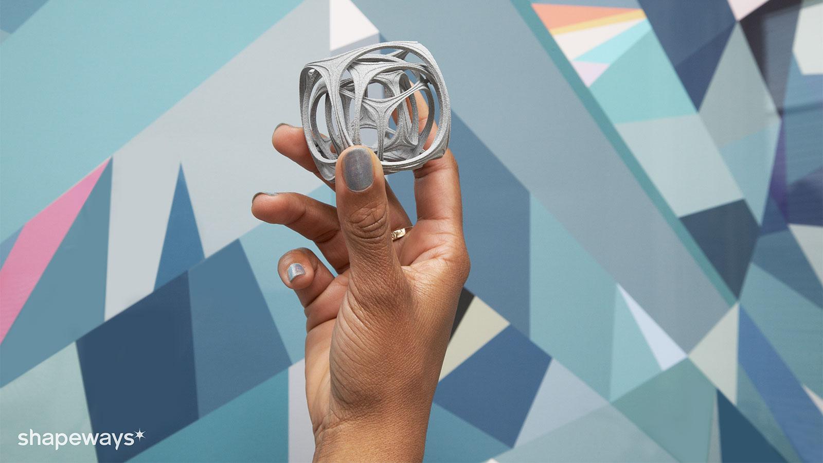 3Dプリント製品のデザイン・設計・生産・販売・販売管理・配送までを支援するShapeways