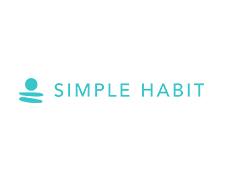瞑想でストレス軽減を図るアプリ、Simple Habit