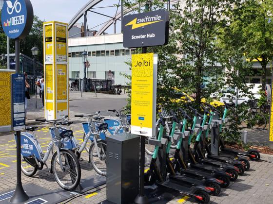 クリーンでグリーンな街を作る充電ソリューションSwiftmile