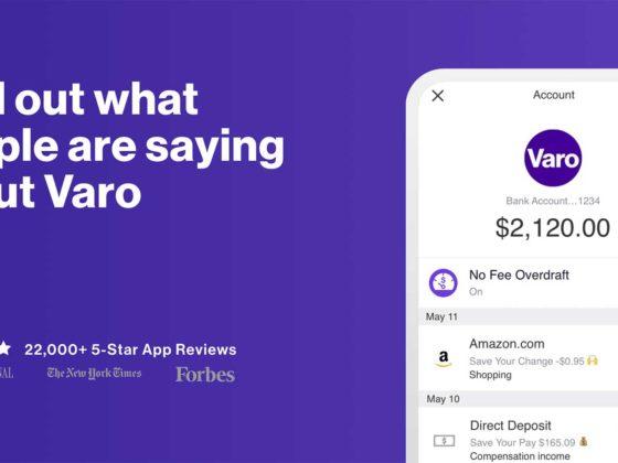 伝統的な銀行サービスを破壊せよ。高金利・手数料無料のモバイルバンキングアプリVaro Money